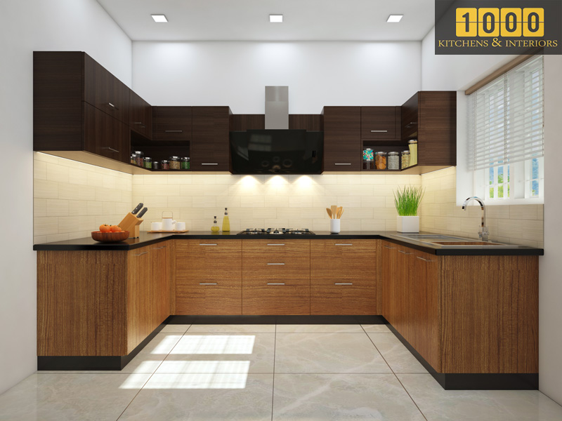 Modern Kitchen Cabinets Designs Thrissur