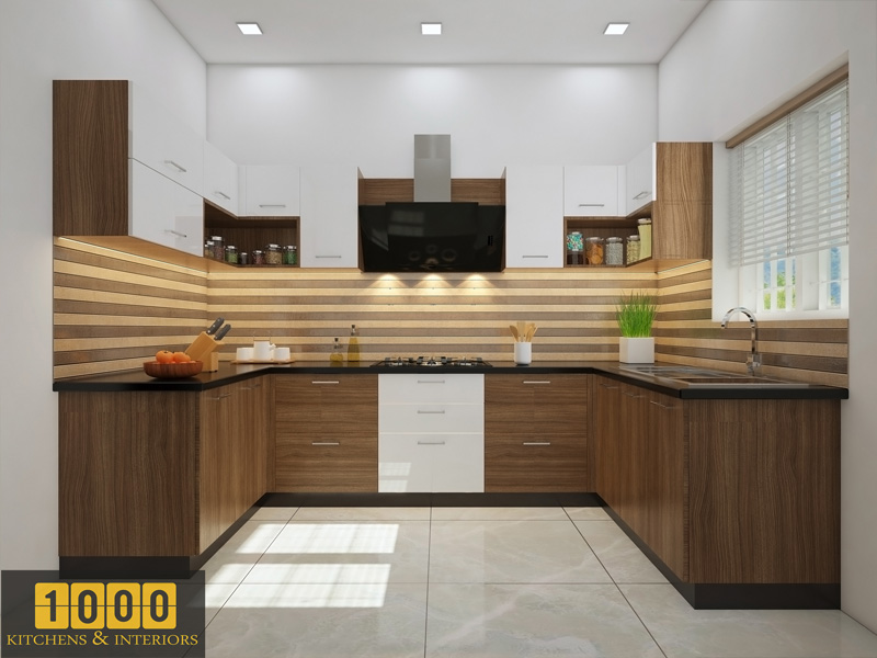 Modern Kitchen Cabinets Design Thrissur
